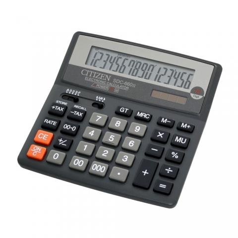 ماشین حساب برند سیتیزن مدل SDC-660II