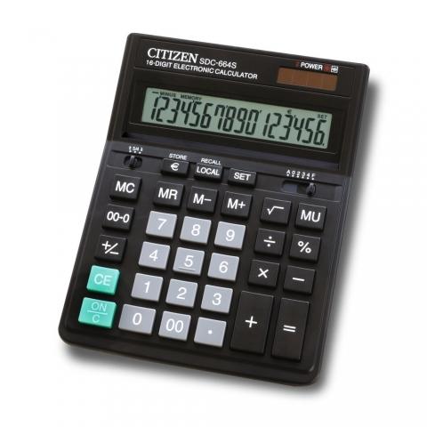 ماشین حساب برند سیتیزن مدل SDC-664S
