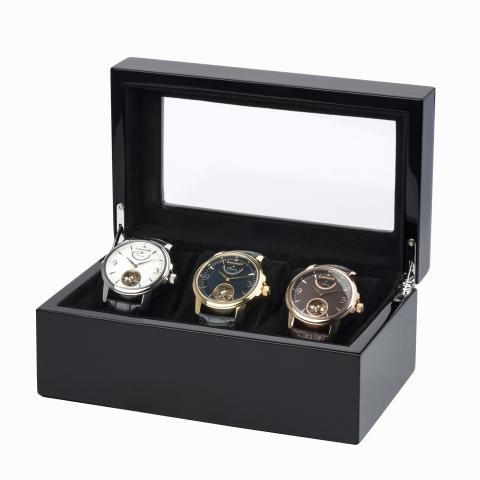 جعبه کالکتور ساعت ارنشا Earnshaw collector Box مدل C1