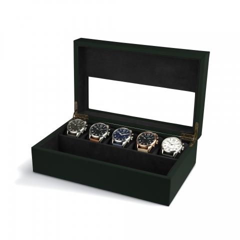 جعبه کالکتور ساعت ای وی ایت AVI-8 collector Box