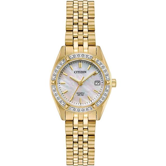 ساعت مچی زنانه اصل   برند سیتیزن   مدل EU6062-50D