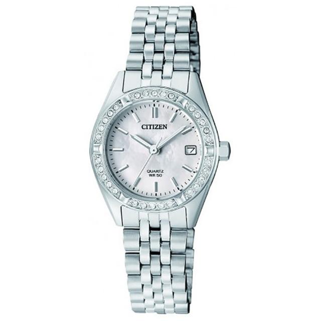 ساعت مچی زنانه اصل   برند سیتیزن   مدل EU6060-55D