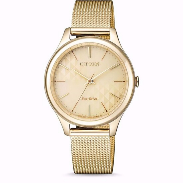 ساعت مچی زنانه اصل   برند سیتیزن   مدل EM0502-86P