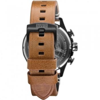 بند چرم ساعت مچی مردانه  آنالوگ ای وی ایت مدل AV-4064-01
