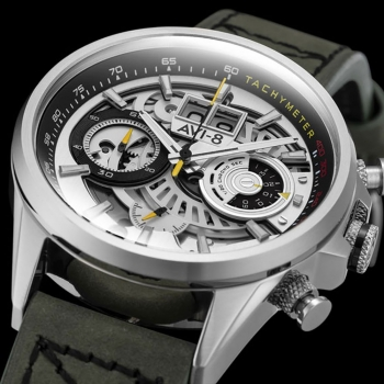 ساعت مچی عقربه ای مردانه AVI-8 مدل AV-4065-01
