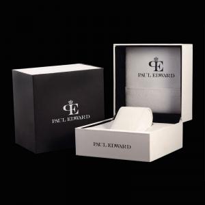 ساعت مچی عقربه ای مردانه کلاسیک برند پائول ادوارد مدل PE001S6