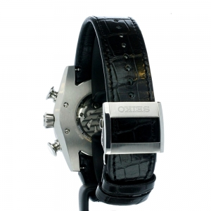 ساعت مچی عقربه ای مردانه کلاسیک برند سیکو مدل SRQ005J1