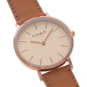 قیمت ساعت مچی زنانه برند کومو میلانو مدل CM012.311.2LBR1