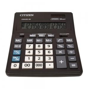 ماشین حساب برند سیتیزن مدل CDB1601-BK