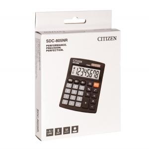 جعبه  ماشین حساب برند سیتیزن مدل SDC-805NR