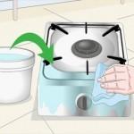 آموزش تمیز کردن گاز استنلس استیل