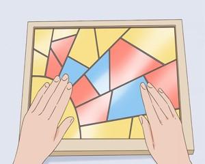 آموزش ساخت شیشه رنگی