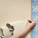 آموزش کندن کاغذ دیواری از روی دیوار