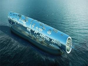 لولههای خورشیدی برای نمکزدایی آب دریا