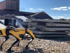 تولید انبوه ربات ساختمانی در چین