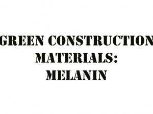 کاربرد ملانین در مصالح ساختمانی سبز