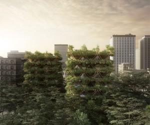 شهری از درخت بامبو