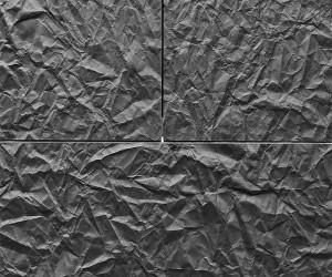پانلی با طرح کاغذ برای نما