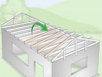 آموزش ساخت سقف شیروانی (بخش دوم)