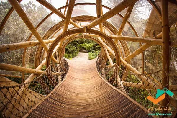 بامبو در پلهای معلق