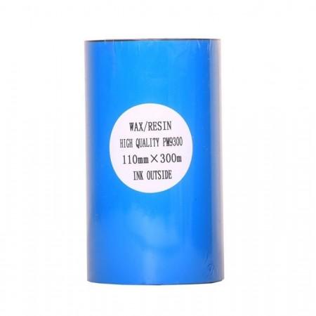 ریبون پرینتر لیبل زن مدل Wax Resin 110mm x 300m