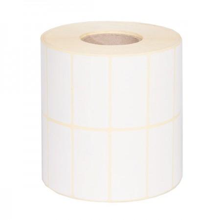 لیبل کاغذ گلاسه 25 * 50 دو ردیف 4000 عددی