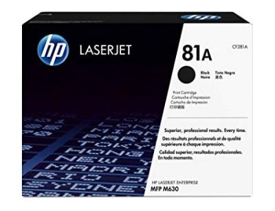 کارتریج لیزری مشکی اچ پی HP 81A