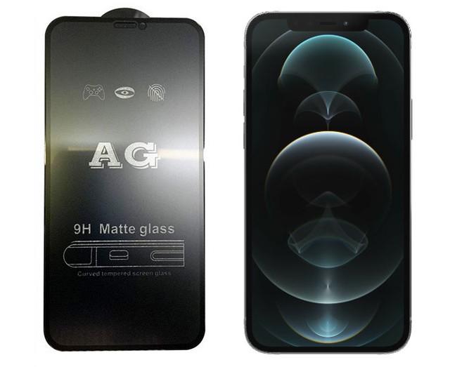محافظ صفحه نمایش شیشه ای مات آیفون AG Glass iPhone 12/12 Pro(تمام مدل ها)