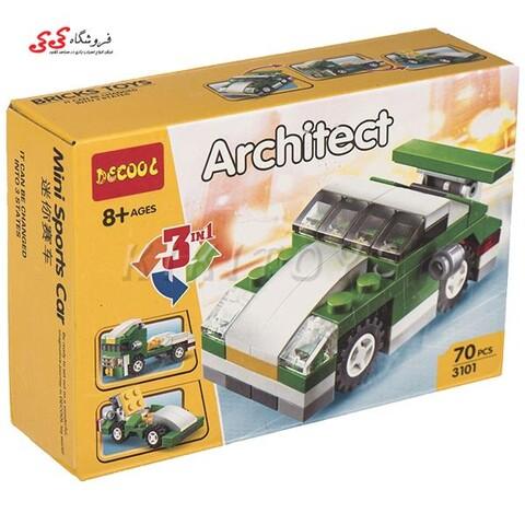 لگو ماشین سه در یک دکول 3101