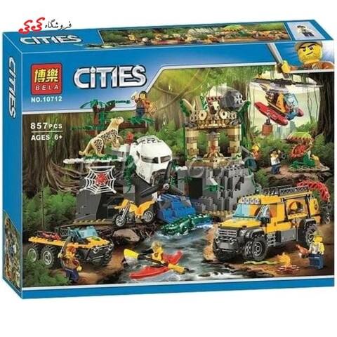 لگو ماشین سیتی جستجو گران جنگل بلا  BELA10712
