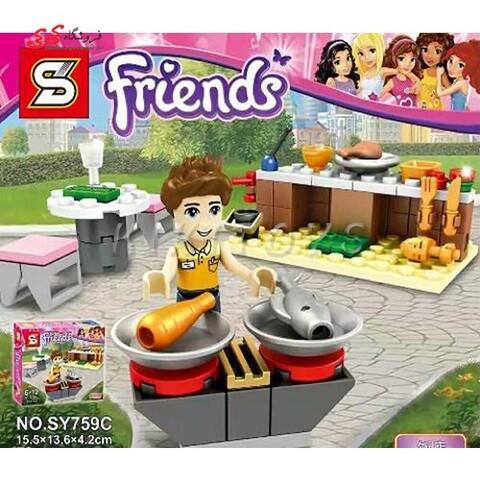 اسباب بازی لگو فروشگاه فرندز دخترانه اس وای SY759C
