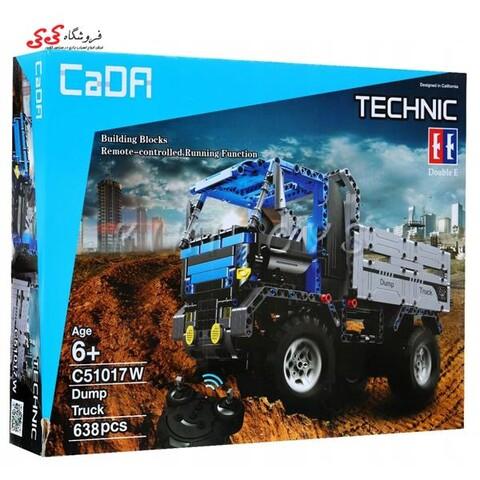 لگو کامیون کمپرسی تکنیکال کنترل 2.4G دابل ای EE