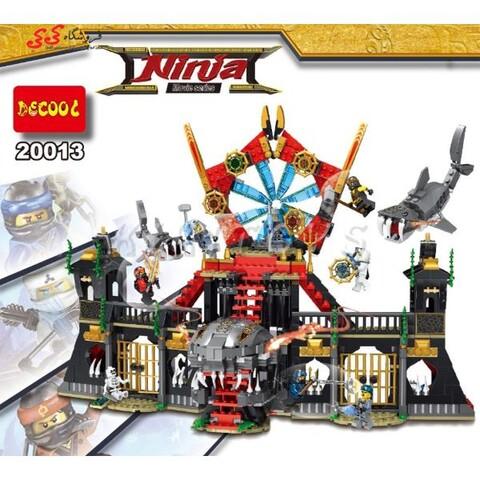 لگو قلعه بزرگ نینجا گو مووی دکول 20013 Ninja movie