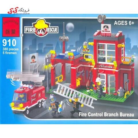 لگو ایستگاه آتشنشانی انلایتن 910 ENLGHTEN