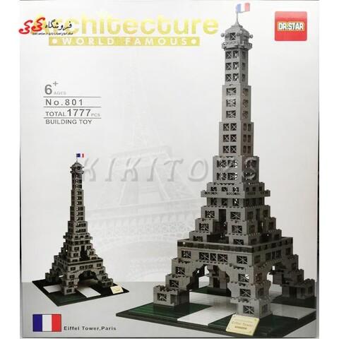 لگو برج ایفل آرشیتکت Architecture  Eiffel Tower Paris