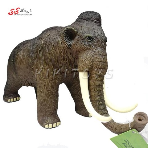 اسباب بازی فیگور حیوانات ماموت نرم بزرگ Mammoth figure