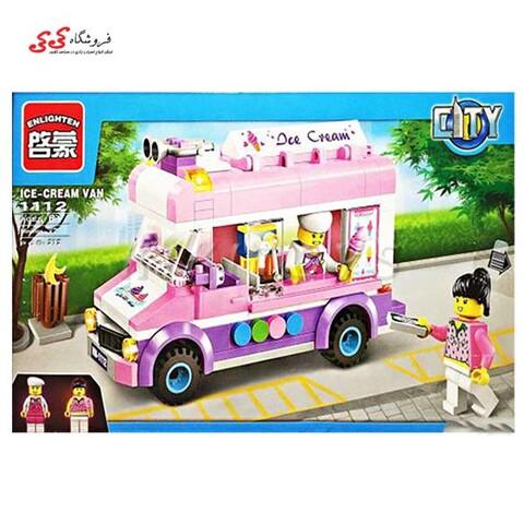 لگو دخترانه ماشین ون بستنی فروش انلایتن ENLIGHTEN 1112
