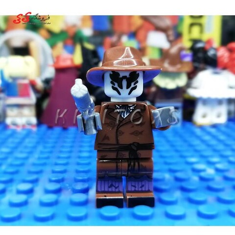 لگو ساختنی قهرمان خاص رورشاخ LEGO  Rorschach