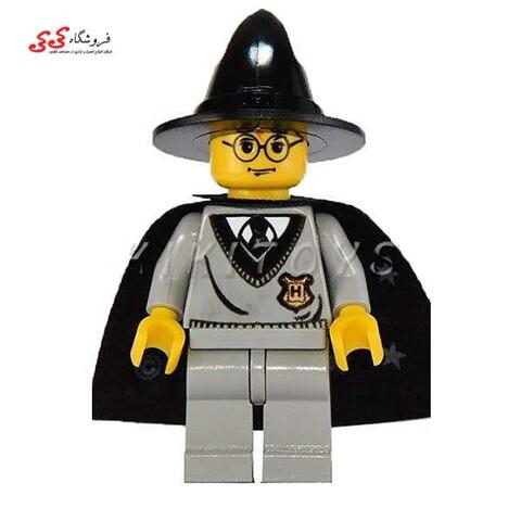 لگو ساختنی قهرمان خاص هری پاتر با کلاه و جارو LEGO Harry Potter