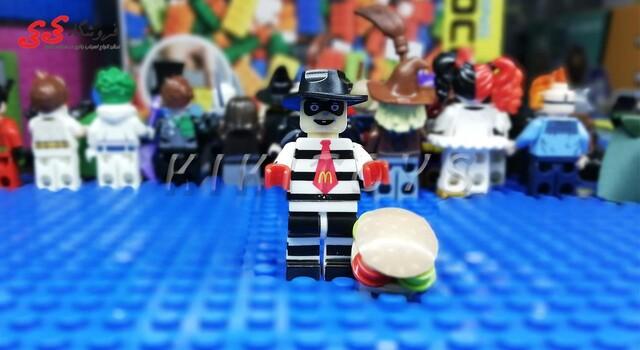 لگو ساختنی قهرمان خاص هامبورگلار مک دونالد LEGO Hamburglar McDonald