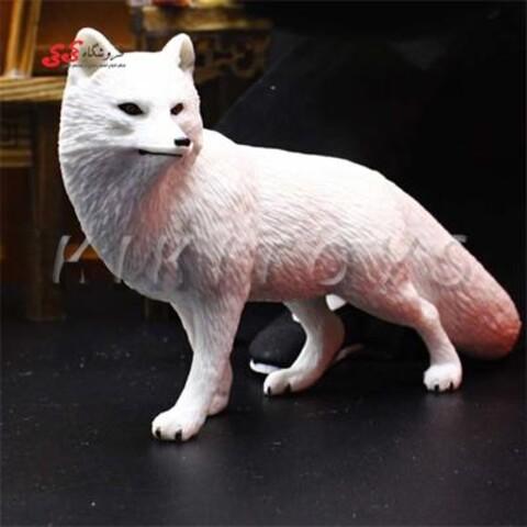 فیگور حیوانات روباه زمستانی fiqure of fox
