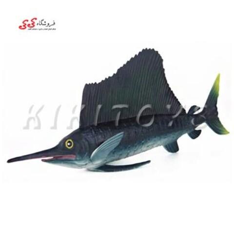 فیگور حیوانات نیزه ماهی Sailboat Toy Model Animals