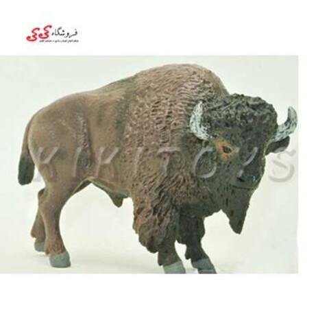 فیگور حیوانات بوفالو buffalo brown bull
