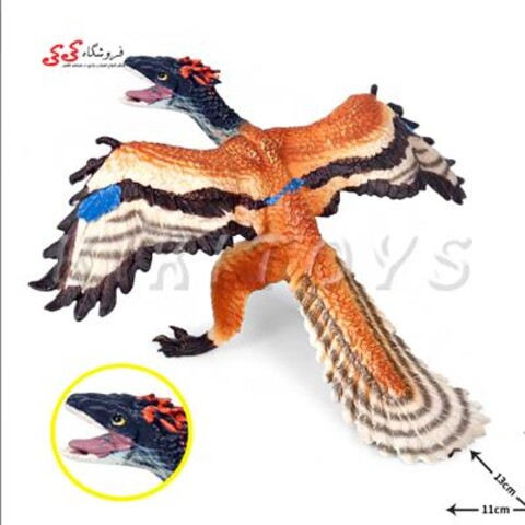 فیگور دایناسور پرنده آرکئوپتریکس
