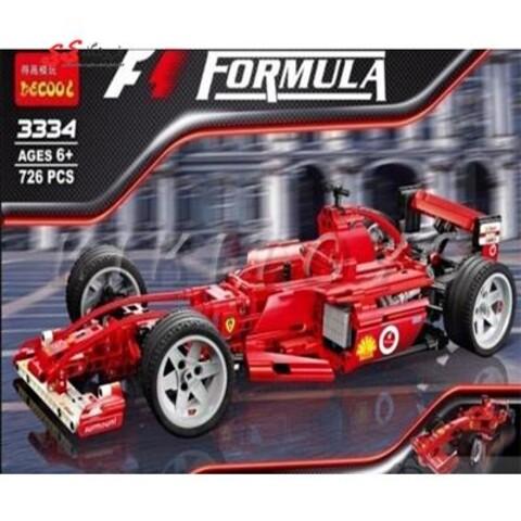 لگو ماشین مسابقه ای فرومول وان دکول Decool 3334 Formula1 Racing Car