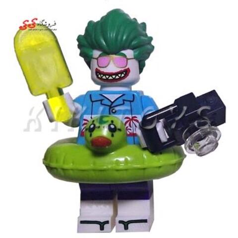 لگو ساختنی قهرمان خاص جوکر با تیوپ LEGO joker