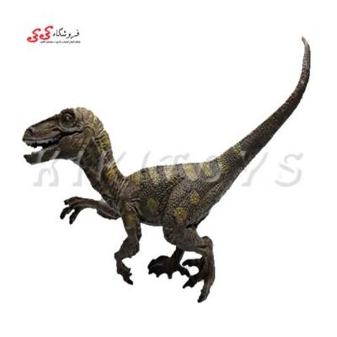 فیگور دایناسور ولاسیراپتور آبی Velociraptor