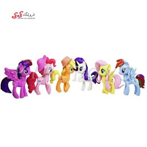 فیگور پونی ست 6 عددی-figure of pony