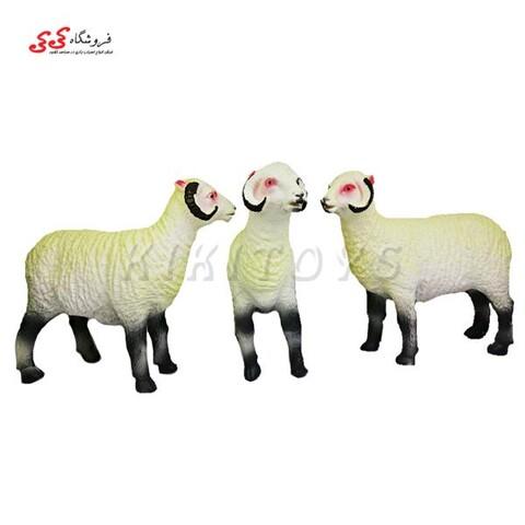 اسباب بازی حیوانات فیگور گوشتی گوسفند شاخدار