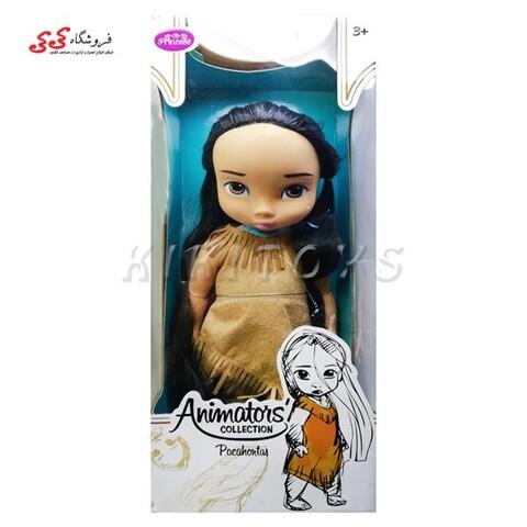 عروسک پوکوهانتس  دختر سرخپوست  Pocahontas